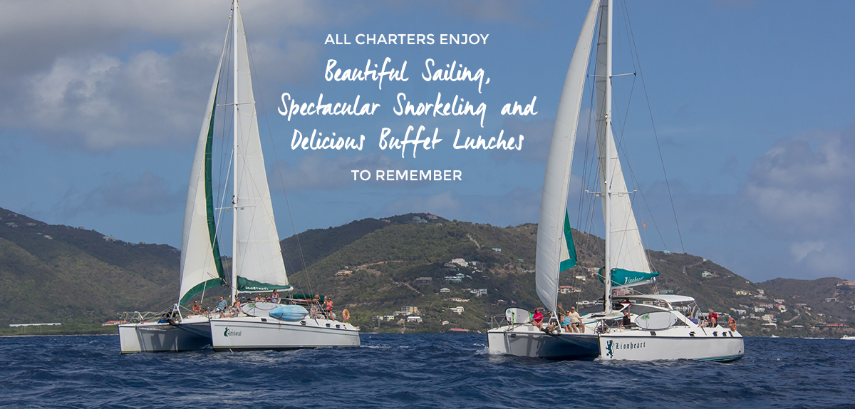 Beautiful Sailing, Spectacular Snorkeling and Delicious Buffet Lunch